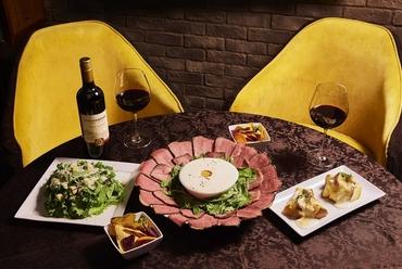 濃厚チーズ×新感覚肉料理!肉ボナーラ