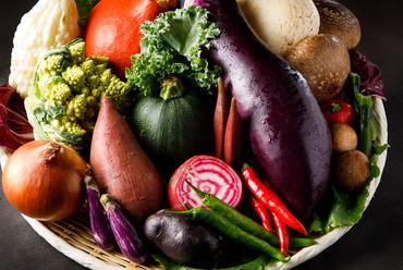 滋味溢れる「野菜」の味わいを、存分に楽しめる『焼野菜』