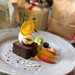 スペインマルコナ産のアーモンドプードルとゲアキル産カカオを贅沢に使ったVeganショコラ