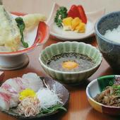 愛媛県郷土料理の宇和島風『鯛めし膳』