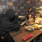 ママも子供も「忍者料理」と「忍者屋敷」で心ゆくまで楽しめる店