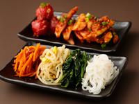国産野菜とこだわりタレで贈る『手作りナムル』『手作りキムチ』