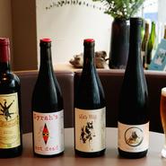 ビオワインが充実しているという点も【近江牛焼肉 彩苑】の特色。焼肉とビオワインとのペアリングも楽しめます。また、本日オススメのクラフトビールもあり。好みの一杯を相棒に迎えてみませんか。