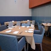 2部屋の個室席を用意。プライベートな食事に活用できる