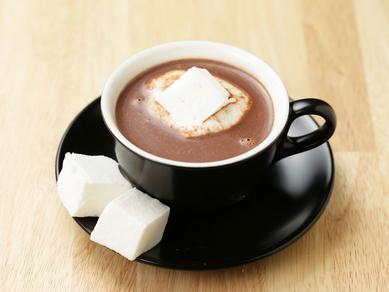 カカオ70%以上のノンシュガークーベルチュールを使用。ほのかな甘みがクセになる『HOT CHOCOLATE』