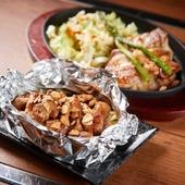 沖縄ならではの上質な素材。「豚肉」や「野菜」に舌鼓