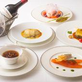 選りすぐりの高級食材を使い、クラシカルなフランス料理に