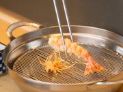 先付1品 車海老2尾 野菜8品 野菜のかき揚げ 御飯 椀物 香の物 デザート