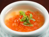 北海道ならではの嬉しい美味しさ『いくらの茶碗蒸し』