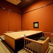 日本各地でとれた、四季折々の味覚を心ゆくまで堪能できる