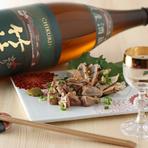 日本の四季が満喫できる旬の食材とのペアリングが楽しめる日本酒の品揃えは秀逸。季節や食材に合わせて入荷する日本酒を目当てに足繁く通うゲストが多いのも頷けます。