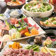 一番のおススメは、新鮮なマグロやサーモン、タイカルパッチョも食べ放題メニューの中に含まれているコース料理。リーズナブルな価格にもかかわらず、お腹いっぱい食べられます。