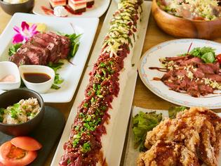 ボリュームとおいしさを兼ね備えた『ロングユッケ寿司』