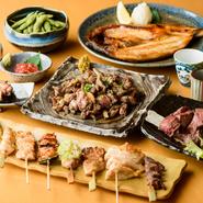 鶏肉は宮崎直送の赤鶏のモモ肉に加え、業者に目利きしてもらった石川県産のものを仕入れているそう。また、自ら青果店などに足を運び、新鮮で良質な地元産の野菜を厳選するなど、地産地消も意識しています。