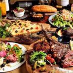 肉バルメニュー&ピザ♪特選肉寿司も食べ放題1500円で!