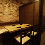 さまざまなシーンにフィットする個室空間