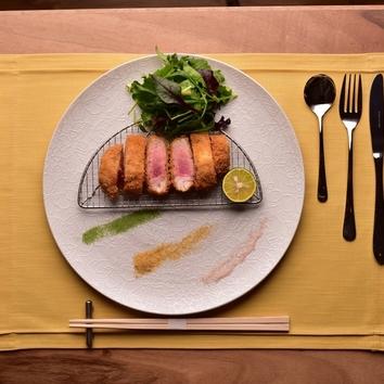 ランチ限定/トリュフチーズとんかつメイン特別ランチコース4900