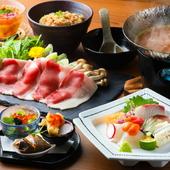 「洋」のエッセンスが加えられた、独創的な料理に舌鼓