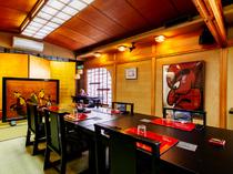 日本の魅力を伝える調度品が設えられた和空間