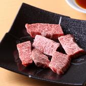 噛み応えがありつつも柔らかく、芳醇な旨味を堪能『特選和牛(数量限定)和牛ハラミ』