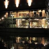 天神南駅から少し歩いたところにあるホテルグランドルチェの2階