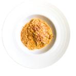 ボイル調理/電子レンジ調理可 インクローチ自慢の自家製生パスタをご家庭で お召し上がりいただけます!  プリプリとした海老の食感と風味をトマトクリームソースとともにご堪能ください。