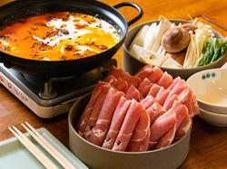 がっつりお鍋までのお食事フルコース。常連さんオススメ! 単品よりもお得です!