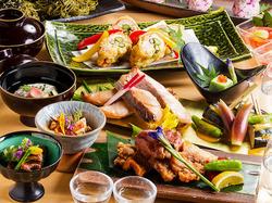 築地直送の鮮魚を料理長が厳選し、御造りをご提供致します。