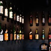 足を運ぶたび新たな味に出合える、選び抜かれた多彩な日本酒