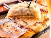 皮のパリパリ感と具のふっくら感が絶妙のうまさを演出致します。食材を豊富に使用しているので、ジュワッと溢れる肉汁と絡まってご飯もすすむ美味しさ◎
