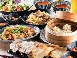 当店自慢の「焼き餃子」をはじめとするこだわりの中華料理をラインナップしたお得なコースです。歓送迎会◎