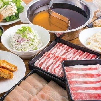 銘柄三元豚◆しゃぶしゃぶ食べ放題コース