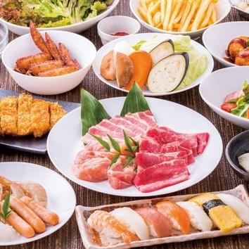 彩り◆焼肉食べ放題コース