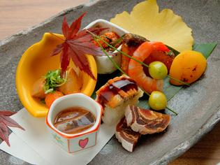 日本酒や焼酎などとのマリアージュを楽しむ『酒肴盛り合わせ』