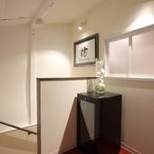 個室が用意された2階は、プライベート感あふれる空間