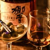 繊細な香りと口あたりの良い味わいがウイスキーの魅力を更に際立たせる『オリーブ』