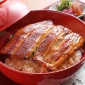 ふっくらおいしい鰻とあっさりタレが決め手『鰻丼』
