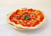 トマトソース、ニンニク、オレガノだけのシンプルだけどクセになる味