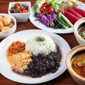 ブラジルの家庭料理や新鮮野菜を存分に楽しむビュッフェ