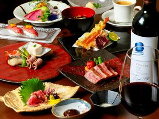 絶品ステーキや肉寿司で彩る『米沢牛づくしコース』
