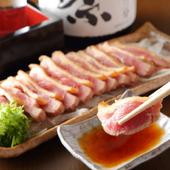 熊本の地鶏「天草大王」を「天草の天日塩」で味わう