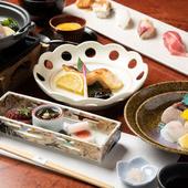 瀬戸内の荒波にもまれ育つ、「昼網」で仕入れる明石産の鮮魚