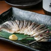 食べ応え抜群! 香ばしい香りと旨味を楽しむ『炙りしめ鯖』