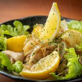 国産豚をレモンと一緒にさっぱりと味わう『レモンで豚』