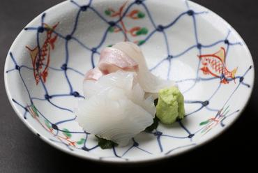 滋味豊かな地元の鮮魚を楽しむ『お造り』