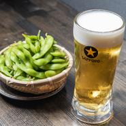明日への活力が湧いてくる。お店のイチオシ『サッポロビール』