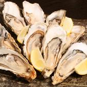 プリプリで旨みが豊富!リーズナブルな価格も魅力の『厚岸産生牡蠣』