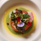 北海道の魅力を目と舌で一度に体感できる、贅沢レストラン