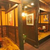 店内は昭和レトロを感じさせる、くつろげる雰囲気