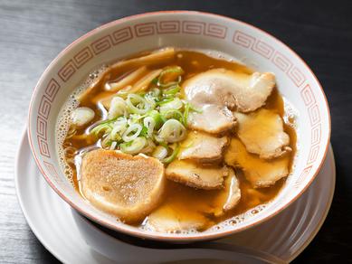 4種類の煮干しを使った津軽の煮干しラーメン『中華そば』